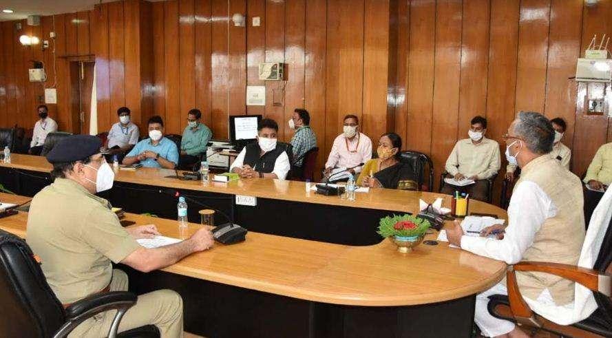 मुख्यमंत्री ने ली सतर्कता विभाग की समीक्षा बैठक, अधिकारियों को दिये ये निर्देश