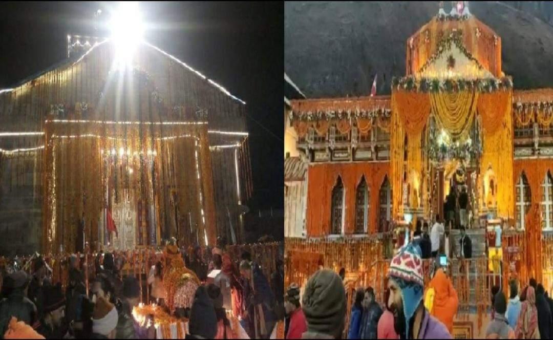 बाबा केदारनाथ और भगवान बदरीनाथ के धाम में ऐसे मनाई गई दिवाली