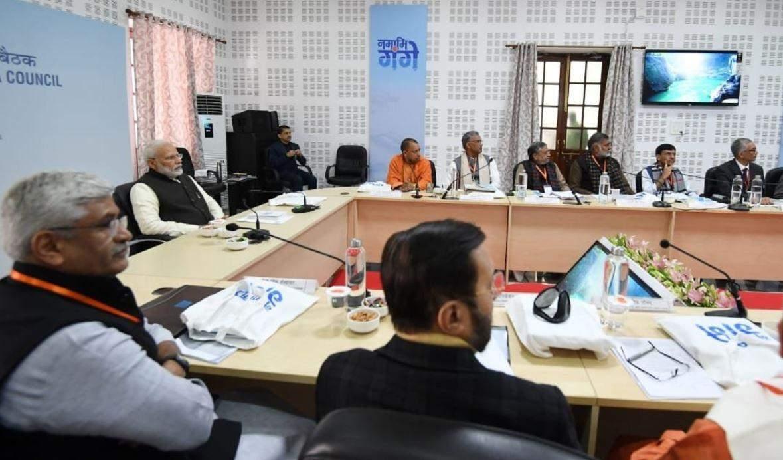 कानपुर में गंगा सफाई पर मंथन, मोदी ने की अब तक हुए कार्यों की समीक्षा