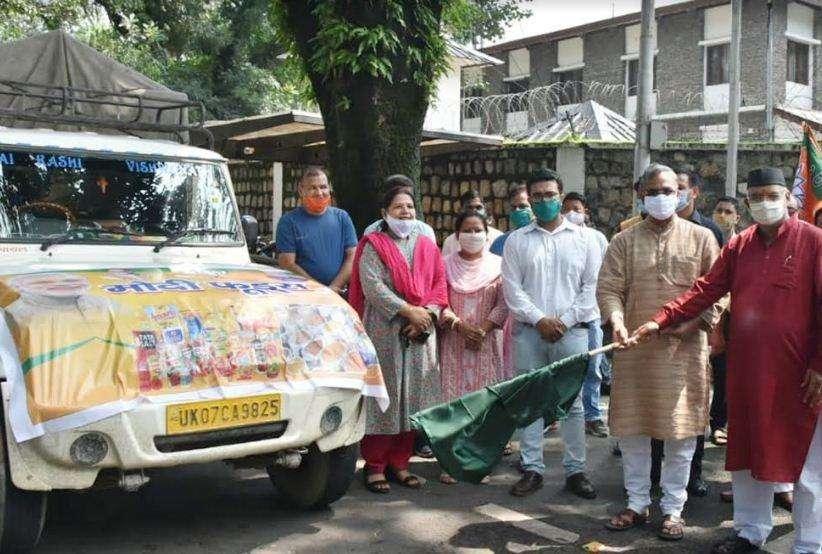 उत्तराखंड   जरूरतमंद लोगों को मिलेगा भोजन, मुख्यमंत्री ने भेजा 10 ट्रक राशन