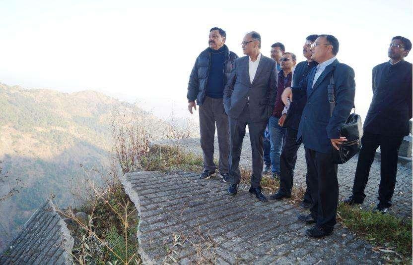 मुख्य सचिव ने किया बलियानाला भू-स्खलन क्षेत्र का मुआयना, दिए ये निर्देश