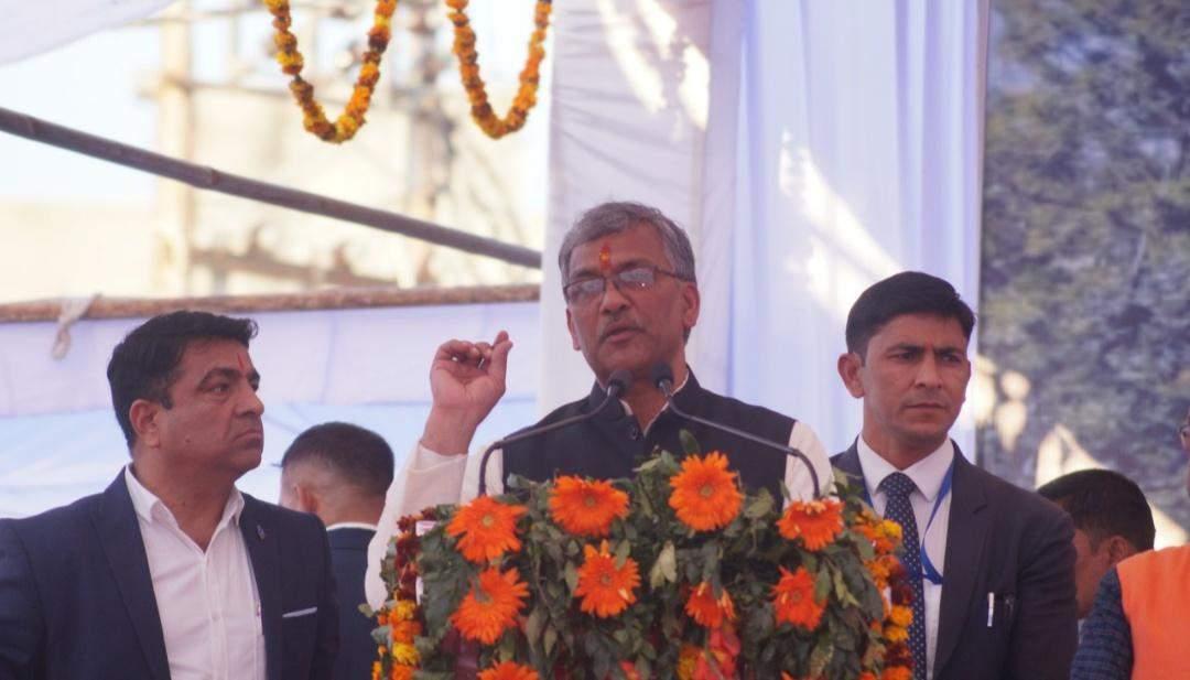 रामनगर | पिछली सरकार में अटका था पुल निर्माण, हमने प्राथमिकता से किया काम: त्रिवेंद्र