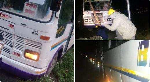 उत्तराखंड | कार को साइड देने में खाई में लटकी बस, मित्र पुलिस ने ऐसे बचाई 27 यात्रियों की जान