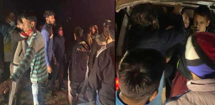 उत्तराखंड   सेना भर्ती परीक्षा में जा रहे युवकों से भरीमैक्स खाई में गिरी, एक की मौत; 11 घायल