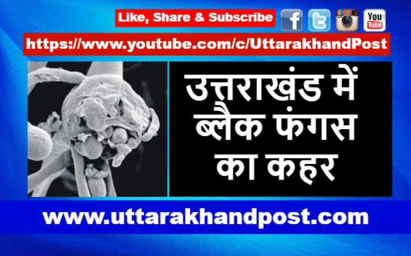 Black Fungus Uttarakhand