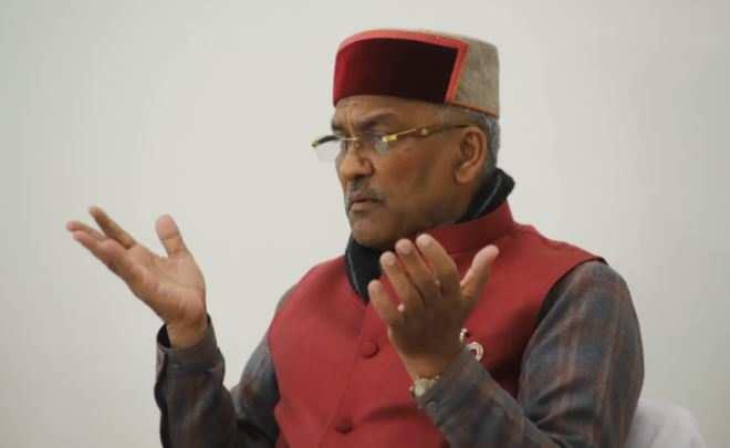 पूर्व मुख्यमंत्री त्रिवेंद्र सिंह रावत ने खाली किया सीएम आवास