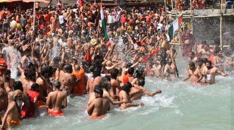 हरिद्वार कुंभ | शाही स्नान की तैयारी पूरी, सभी 13 अखाड़े करेंगे मां गंगा में स्नान