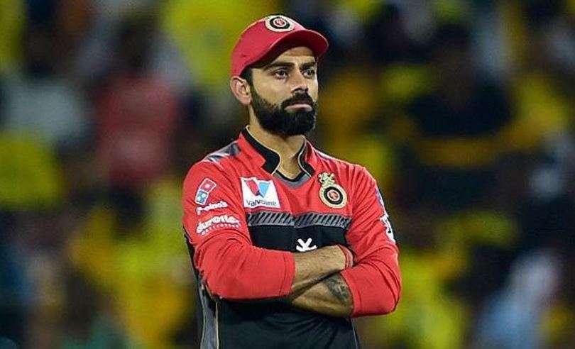 IPL  पहली हार के बाद विराट कोहली को एक औरझटका,लगा12 लाख का जुर्माना