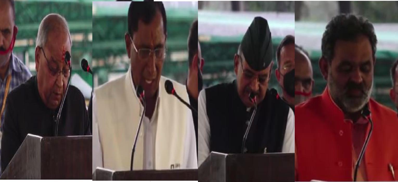 उत्तराखंड में 11 मंत्रियों ने ली शपथ | भगत, चुफाल, जोशी और यतीश्वरानंद भी बने मंत्री