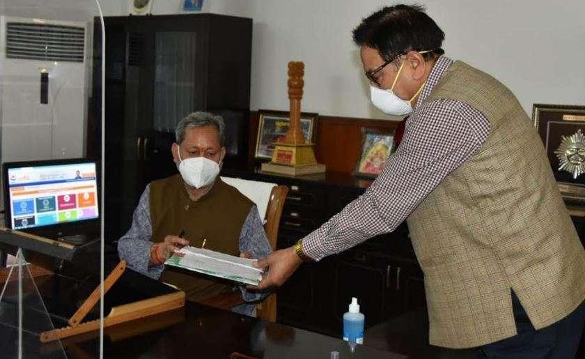 उत्तराखंड   मुख्यमंत्री तीरथ सिंह रावत ने इन्हें बनाया अपना प्रमुख सलाहकार