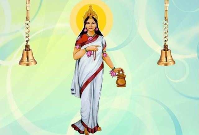 नवरात्रि   दूसरे दिन होती है मां दुर्गा के ब्रह्मचारिणी स्वरूप की पूजा