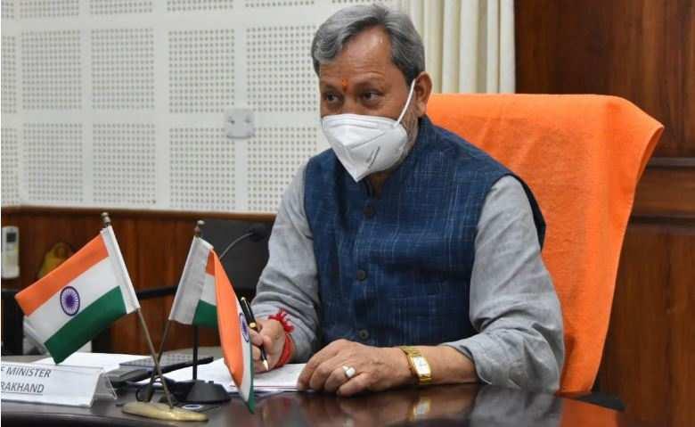 एकजुट कोशिशों से जीतेंगे कोविड से लङाई : मुख्यमंत्री तीरथ