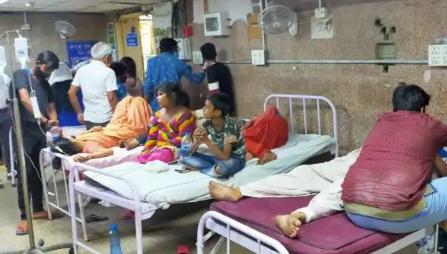 कुट्टू का आटा खाने से 400 लोग हुए बीमार,अस्पताल में भर्ती